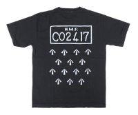 PEEL&LIFT        H.M.P. tee プリントTシャツ・ブラック