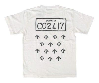 画像1: PEEL&LIFT        H.M.P. tee プリントTシャツ・ホワイト