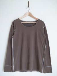 gilet ジレ       30%OFF BEAUTIFUL OLIVE UNDER SHRTS リメイクL/S