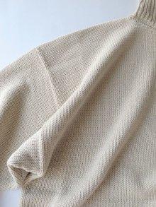 """他の写真3: sulvam       サルバム """"high neck knit""""スリットハイネックニット"""