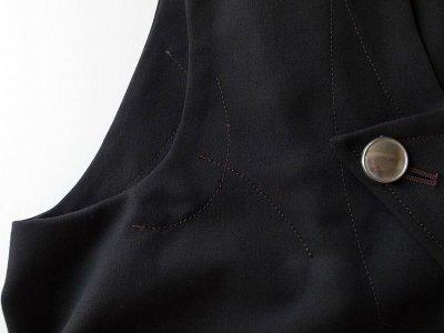 """画像2: sulvam       サルバム """"crazy vest""""クレイジーパターンベスト"""