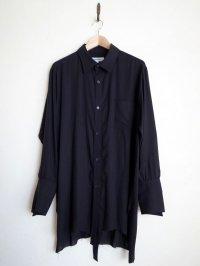 """sulvam       サルバム  """"double open SH""""ダブルオープンシャツ"""