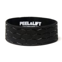 PEEL&LIFT        tire tread wristband リストバンド・black