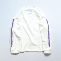 stein       OVERSIZED LONG SLEEVE TEE・WHITE