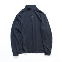 stein       OVERSIZED HIGH NECK LS・DARK NAVY