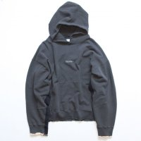 stein       OVERSIZED REBUILD SWEAT HOODED・CHARCOAL
