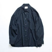 stein       OVERSIZED DOWN PAT SHIRT・NAVY