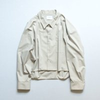 stein       SHORT LENGTH CARDIGAN SHIRT・BEIGE