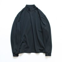 stein       OVERSIZED HIGH NECK LS・BLACK