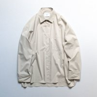 stein       OVERSIZED DOWN PAT SHIRT・BEIGE