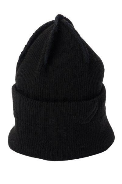 画像1: PHINGERIN       フィンガリン TINK WATCH CAP・ブラック
