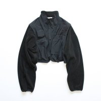 stein       OVER SLEEVE FIXXED JACKET・BLACK
