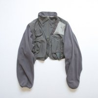 stein       OVER SLEEVE FIXXED JACKET・S.GRAY