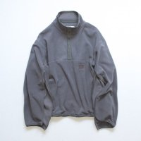 stein       OVER SLEEVE SLASH FLEECE TOP・S.GRAY
