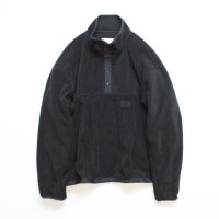 stein       OVER SLEEVE SLASH FLEECE TOP・BLACK