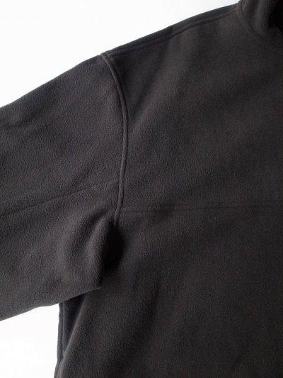 画像2: stein       OVER SLEEVE SLASH FLEECE TOP・BLACK