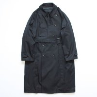 stein       LAY OVERSIZED OVERLAP COAT・BLACK