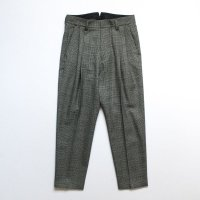 stein       TWO TUCK WIDE TROUSERS・GLEN CHECK