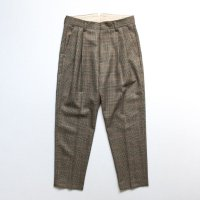 stein       TWO TUCK WIDE TROUSERS・WINDOW PEN