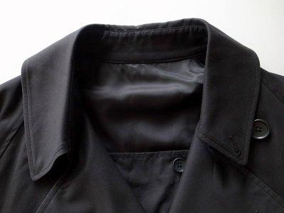 画像2: stein       LAY OVERSIZED OVERLAP COAT・BLACK