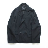 stein        OVERSIZED DOUBLE BREASTED JACKET・BLACK