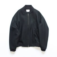 stein       WOOL ZIP JACKET・BLACK