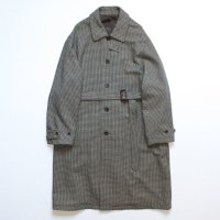 stein       OVER SLEEVE INVESTIGATED COAT・GUN CLUB CHECK