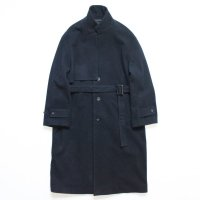 stein       LAY CHESTER COAT・DARK NAVY