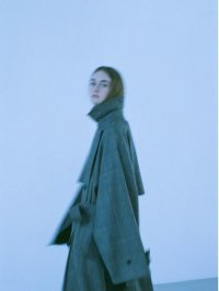 stein       LAY OVERSIZED OVERLAP COAT・WINDOW PEN