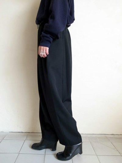 画像2: Dulcamara      よそいき3サイドパンツ・ブラック