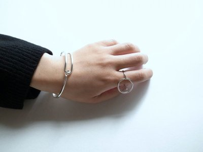 画像2: revie objects       〈LINKING〉 Penetrating ring SV