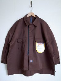 SHINYAKOZUKA       シンヤコヅカ SHIRT-ISH JACKET with DICKIES・CHOCO