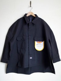 SHINYAKOZUKA       シンヤコヅカ SHIRT-ISH JACKET with DICKIES・BLACK