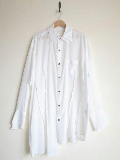 """画像1: sulvam       サルバム  """"over w.collar SH""""オーバーダブルカラーシャツ"""