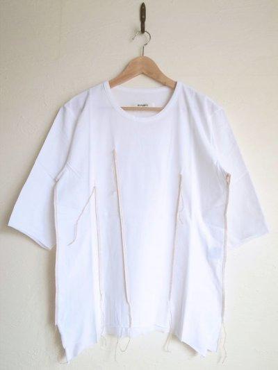 """画像1: sulvam       サルバム  """"darts T-SH""""ダーツTシャツ・ホワイト"""