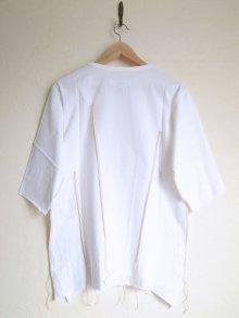 """他の写真1: sulvam       サルバム  """"darts T-SH""""ダーツTシャツ・ホワイト"""