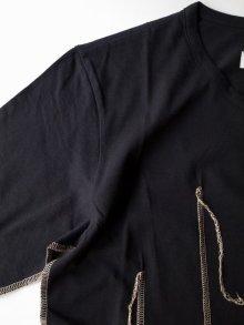 """他の写真3: sulvam       サルバム  """"darts T-SH""""ダーツTシャツ・ブラック"""