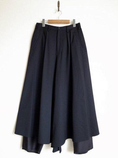 """画像1: sulvam       サルバム  """"skirt PT""""スカートパンツ"""