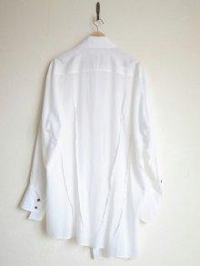 """他の写真1: sulvam       サルバム  """"over w.collar SH""""オーバーダブルカラーシャツ"""