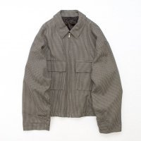 stein       OVER SLEEVE ZIP JACKET・GUN CLUB CHECK
