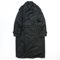 stein       LAY OVERSIZED TRENCH COAT・BLACK