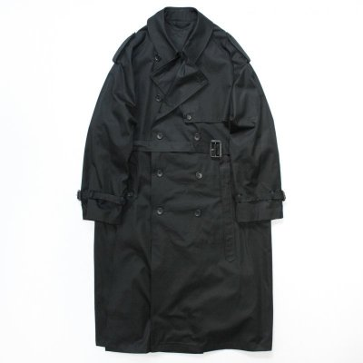 画像1: stein       LAY OVERSIZED TRENCH COAT・BLACK