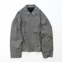 stein       OVER SLEEVE ZIP JACKET・GLEN CHECK