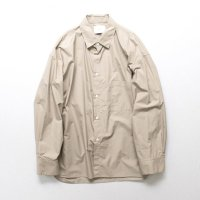 stein       OVERSIZED DOWN PATTERN SHIRT・BEIGE