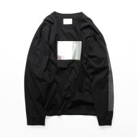 stein       OVERSIZED LONG SLEEVE TEE_A・BLACK