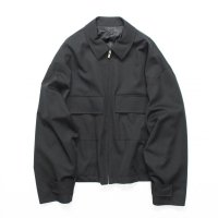 stein       OVER SLEEVE ZIP JACKET・BLACK