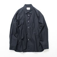 stein       OVERSIZED DOWN PATTERN SHIRT・NAVY
