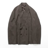 stein       OVERSIZED DOUBLE BREASTED JACKET・BROWN