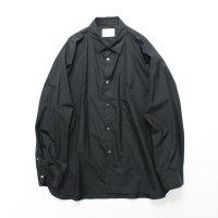 stein       OVERSIZED DOWN PATTERN SHIRT・BLACK