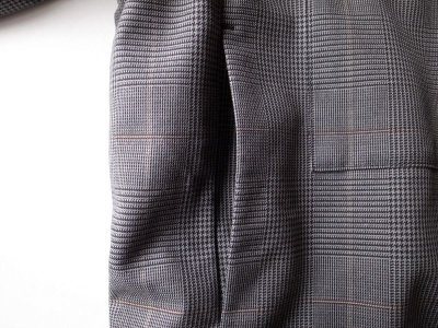 画像2: stein       OVER SLEEVE ZIP JACKET・GLEN CHECK